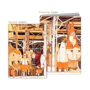 """Pintoo (y1037) - Nan Jun: """"Puzzle Cover, Waiting Platform"""" - 329 piezas"""