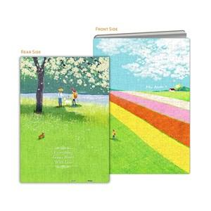 """Pintoo (y1028) - """"Puzzle Cover, Idyllic Life"""" - 329 piezas"""