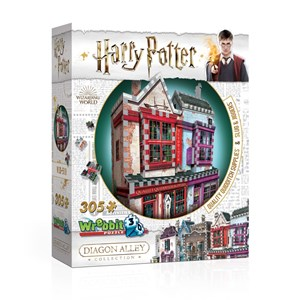 "Wrebbit (0509) - ""Harry Potter, Quality Quidditch Supplies and Slug & Jiggers"" - 305 piezas"