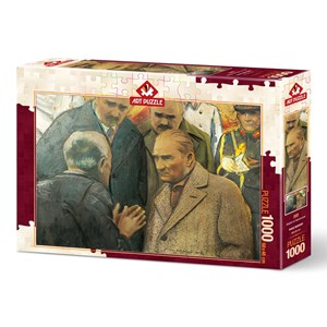 "Art Puzzle (4589) - ""Atatürk and Earthquake"" - 1000 piezas"