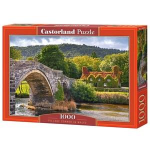 "Castorland (C-104673) - ""Village Corne in Wales"" - 1000 piezas"