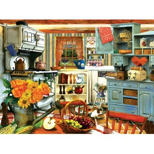 "SunsOut (28851) - Tom Wood: ""Grandma's Country Kitchen"" - 1000 piezas"