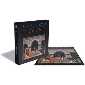 "Zee Puzzle (23455) - ""Rush, Moving Pictures"" - 500 piezas"