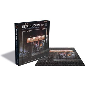 "Zee Puzzle (25151) - ""Elton John, Dont Shoot me I'm Only the Piano Player"" - 500 piezas"