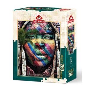 """Art Puzzle (5021) - """"Grafitti, Sao Paulo"""" - 260 piezas"""