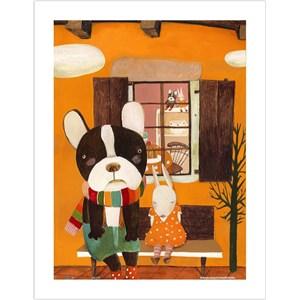 "Pintoo (h1709) - Nan Jun: ""Side by Side"" - 300 piezas"