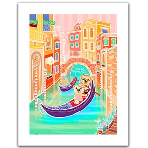 "Pintoo (h1537) - ""Romantic Vacations, Venice"" - 300 piezas"