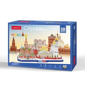 "Cubic Fun (mc266h) - ""Cityline, Moscow"" - 204 piezas"