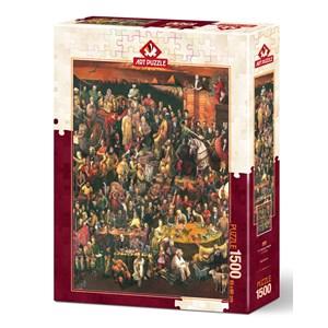 """Art Puzzle (4000) - """"113 Famous People"""" - 1500 piezas"""