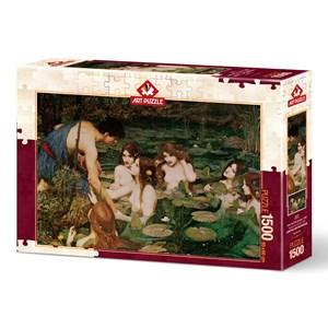 "Art Puzzle (5377) - ""Hylas And The Nymphs, 1896"" - 1500 piezas"