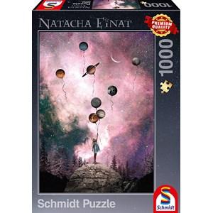 """Schmidt Spiele (59903) - Natacha Einat: """"Planet Longing"""" - 1000 piezas"""