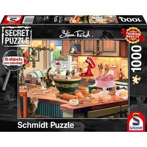 """Schmidt Spiele (59919) - """"In the kitchen"""" - 1000 piezas"""