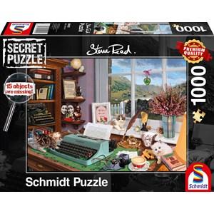 "Schmidt Spiele (59920) - Steve Read: ""At the Desk"" - 1000 piezas"
