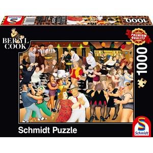 """Schmidt Spiele (59686) - Beryl Cook: """"Party Night"""" - 1000 piezas"""