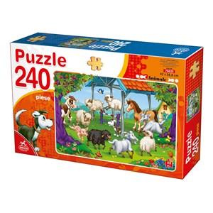 """Deico (76625) - """"Farm Animals"""" - 240 piezas"""