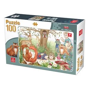 """Deico (76519) - """"Forest Animals"""" - 100 piezas"""