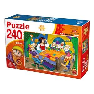 """Deico (76595) - """"Snow White and the 7 Dwarfs"""" - 240 piezas"""