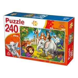 "Deico (76632) - ""Wild Animals"" - 240 piezas"