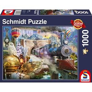 "Schmidt Spiele (58964) - ""Magic Trip"" - 1000 piezas"