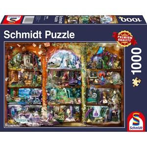 "Schmidt Spiele (58965) - ""Fairytale Magic"" - 1000 piezas"