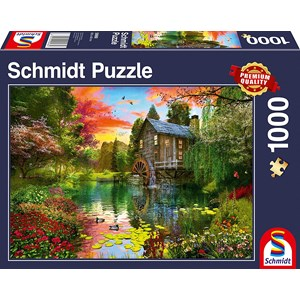 "Schmidt Spiele (58968) - ""The Water Mill"" - 1000 piezas"