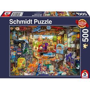 """Schmidt Spiele (58972) - """"Garage Sale"""" - 500 piezas"""