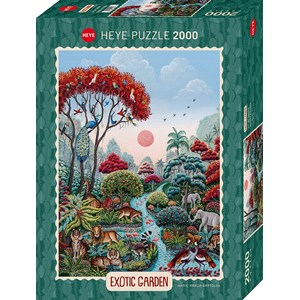 """Heye (29958) - """"Wildlife Paradise"""" - 2000 piezas"""