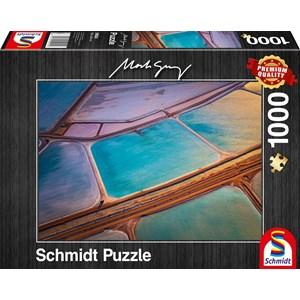 """Schmidt Spiele (59924) - Mark Gray: """"Pastelle"""" - 1000 piezas"""