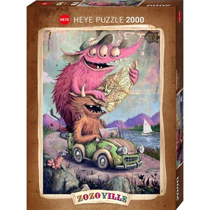 "Heye (29938) - ""Zozoville"" - 2000 piezas"
