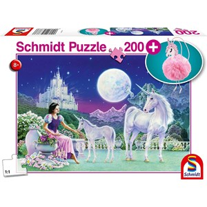 "Schmidt Spiele (56373) - ""Unicorn"" - 200 piezas"