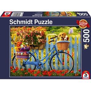 "Schmidt Spiele (58957) - ""Sunday Excursion with Good Friends"" - 500 piezas"