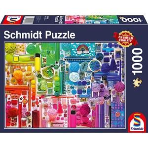 """Schmidt Spiele (58958) - """"Rainbow Colours"""" - 1000 piezas"""