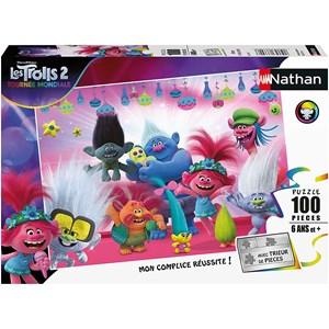 "Nathan (86770) - ""Trolls 2"" - 100 piezas"