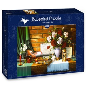"Bluebird Puzzle (70078) - ""She Loves Me"" - 2000 piezas"