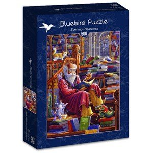 "Bluebird Puzzle (70217) - Randal Spangler: ""Evening Pleasures"" - 500 piezas"