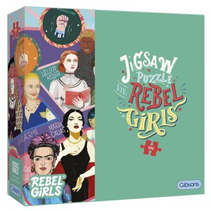 "Gibsons (G2221) - ""Rebel Girls"" - 100 piezas"