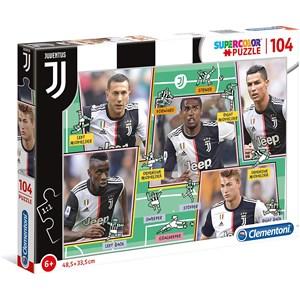 "Clementoni (27131) - ""Puzzle Juventus"" - 104 piezas"