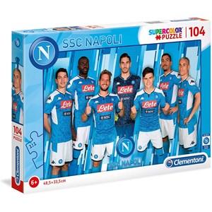 """Clementoni (27137) - """"SSC Napoli 2020"""" - 104 piezas"""