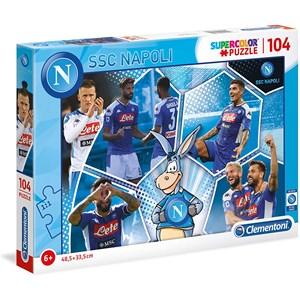 """Clementoni (27139) - """"SSC Napoli Supercolor Puzzle"""" - 104 piezas"""