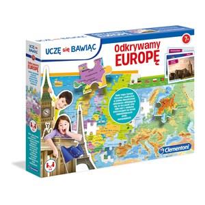 "Clementoni (50020) - ""Europe Map"" - 104 piezas"