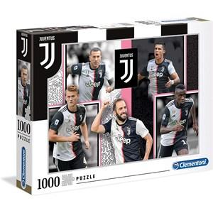 """Clementoni (39531) - """"Juventus"""" - 1000 piezas"""