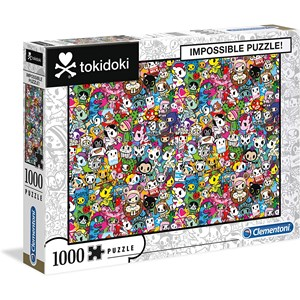 """Clementoni (39555) - """"Tokidoki"""" - 1000 piezas"""