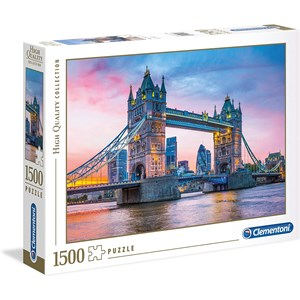 "Clementoni (31816) - ""Tower Bridge Sunset"" - 1500 piezas"