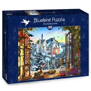 "Bluebird Puzzle (70122) - ""Mountain Castle"" - 1000 piezas"