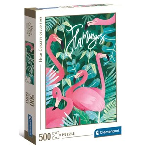 "Clementoni (35101) - ""Flamingoes"" - 500 piezas"