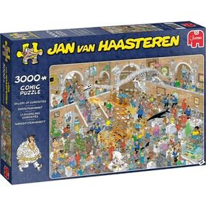 """Jumbo (20031) - Jan van Haasteren: """"Gallery of Curiosities"""" - 3000 piezas"""