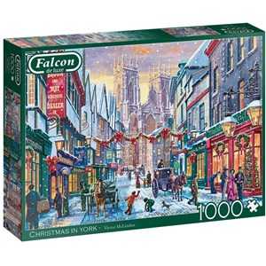 "Jumbo (11277) - Victor McLindon: ""Christmas in York"" - 1000 piezas"