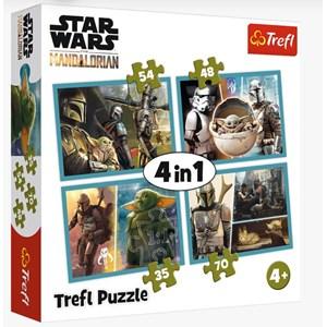 "Trefl (34377) - ""The Mandalorian and his World"" - 35 48 54 70 piezas"