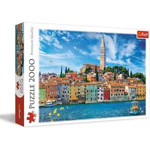 "Trefl (27114) - ""Rovinj, Croatia"" - 2000 piezas"