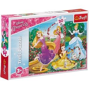 "Trefl (18267) - ""Disney Princess"" - 30 piezas"